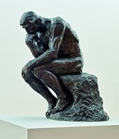 Auguste Rodin, Der Denker (Le Penseur), 1880-1882