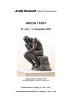 """Pressemappe """"Rodin/Arp"""""""