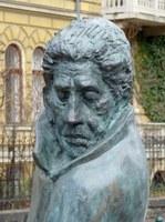 Denkmal für Arthur Koestler in Budapest