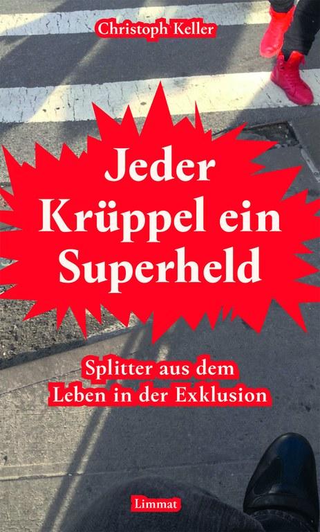 """Cover """"Jeder Krüppel ein Superheld"""""""