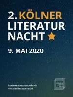 Programmheft der Kölner Literaturnacht 2020