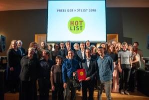 Hotlist 2018: Alle Preisträger und Stifter