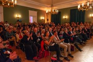 Publikum der Hotlist 2018 im Literaturhaus Frankfurt