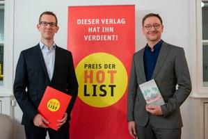 Elfenbein Verlag, Preis der Hotlist 2018