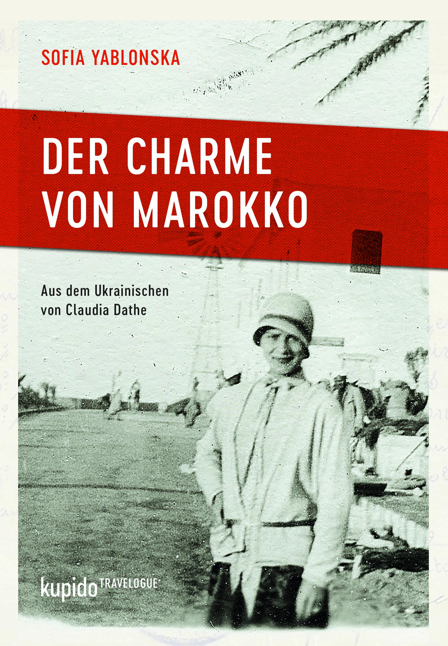 Cover Yablonska, Der Charme von Marokko, Kupido Verlag