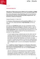 Presseinformation Straelener Übersetzerpreis 2019
